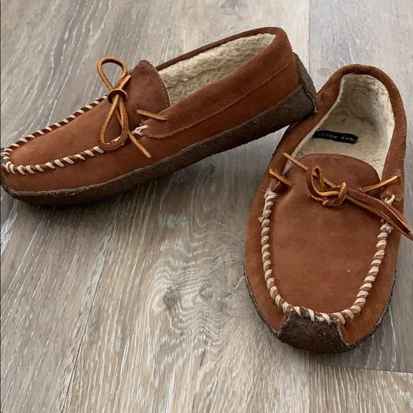 d5c849616ca75 Lands' End Shoes | Lands End Boys Moccasins | Poshmark